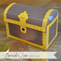 Items similar to Printable DIY Pirate Treasure Chest Favor Boxes on Etsy Pirate Birthday, Pirate Theme, Pirate Party, Pirate Treasure Chest, Treasure Boxes, Wooden Toy Chest, Activities For Kids, Crafts For Kids, Under The Sea Theme