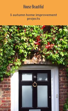 Get your home winter-ready this autumn with cost-effective ideas to improve your home in autumn, from improving kerb appeal with a new front door to upcycling furniture for a fresh new look. Suitcases, Home Hacks, Autumn Home, Upcycled Furniture, Home Improvement Projects, Beautiful Homes, Improve Yourself, Action, Holidays
