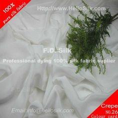 http://www.silkfabricwholesale.com/16mm-silk-crepe-de-chine-fabric-natual-white.html     F.D. silk most professional 16mm silk crepe de chine fabric-natual white supplier.