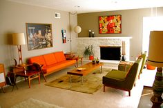 there's a chance i've pinned this before... i LOVE mid century modern.