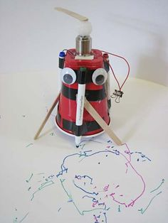 Science Buddy's Robotics science project: Art Bot.   If you would love to build robots, join Science World's Robotics Club http://www.scienceworld.ca/robotics-club