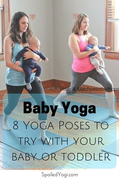 There are many types of yoga for seniors to choose from. The beauty of yoga is we adapt it to our own health and abilities or situation.Yoga is beneficial. Fitness Workouts, Fitness Motivation, Yoga Fitness, Baby Massage, Massage Bebe, Baby Workout, Pregnancy Workout, Mommy And Baby Yoga, Baby Baby