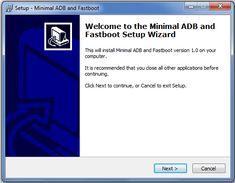 ADB Minimal Install