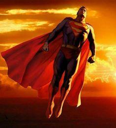 Superman taking in some sun Supergirl Superman, Superman Art, Superman Family, Superman Man Of Steel, Superman Stuff, Batman, Macross Anime, Dc Comics Superheroes, Clark Kent