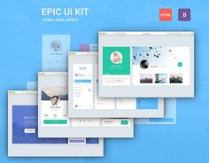 Epic UI Kit Bootstrap 3 Theme by EpicShop on @Graphicsauthor