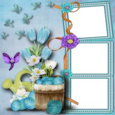 Butterfly Stencil, Butterfly Frame, Flower Frame, Baby Crafts, Fun Crafts, Multi Picture Frames, Foto Frame, Boarders And Frames, Book And Frame