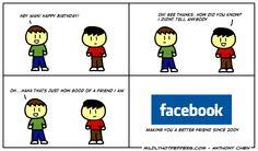 Facebook friends hahaha