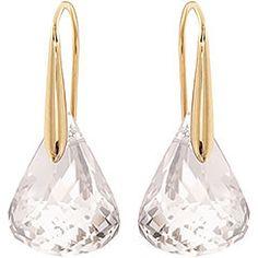 Lunar Pierced Earrings - Jewelry - Swarovski Online Shop   Los amo