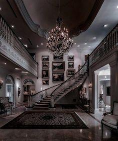 Dream House Interior, Luxury Homes Dream Houses, Dream Home Design, My Dream Home, Modern Mansion Interior, Modern House Design, Dream Rooms, House Rooms, Home Fashion