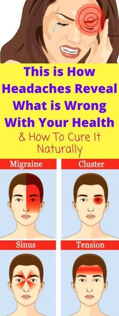 This is How Headaches Reveal What is Wrong With Your Health A headache is always an annoying pain which visits you at the wrong time. People suffering from a frequent headache must have experienced that it is the disease which makes you uncomfortable and inactive for a while