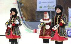 Sochi, Russia  woman costume
