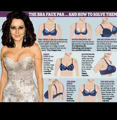 15 Bra Hacks, Tips, And Tricks For The Perfect Size and Fit | http://sexypromsdress.blogspot.com/