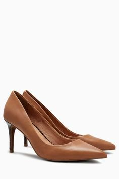 Buy Tan Leather Courts from the Next UK online shop