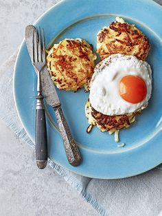 Make a batch of our clever, cook-from-frozen hash browns for lazy weekend brunches. They're easy to make and vegetarian