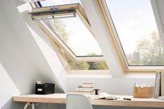 Wentelend dakvenster - dakramen op zolder