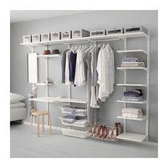 ALGOT Kiinnityskisko/hyllylevy/3-koukku IKEA