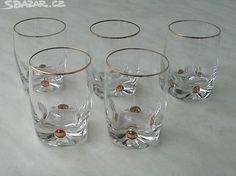 sklenice zlacené, - obrázek číslo 1