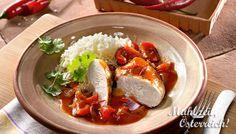 Feuerhuhn #chicken #hot #rice #recipe #yummy #food #fotd