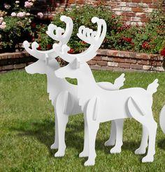 Medium Reindeer Display