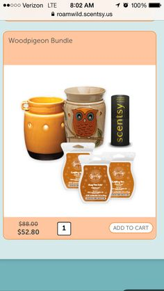 'For her' Scentsy sale!!   http://roamwild.scentsy.us