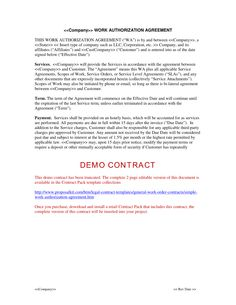 general service contract template .