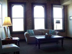 future office inspiration - looove the large windows!