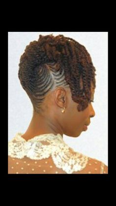 Beautiful protective style.
