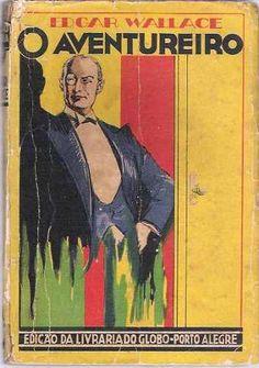 livro coleção amarela o aventureiro edgar wallace
