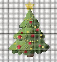 Christmas Cross Stitch Patterns via My Favourite Things