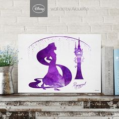 Princess Rapunzel Disney Wall Art - Poster Α3