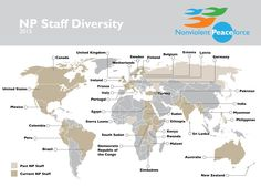 Joining hands from across the world, NP staff comes together to help those in need. #culturaldiversity #peace