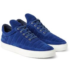 Filling Pieces - The Low Fuse Suede Sneakers|MR PORTER