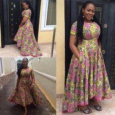 Latest Full Gown Ankara Styles - We Love. >>> Hello lovelies, Take a look at our complete latest full gown ankara styles and get inspired! Trendy Ankara Styles, Ankara Gown Styles, Ankara Gowns, Ankara Dress, Kente Styles, Ankara Fabric, Dress Styles, African Print Dresses, African Fashion Dresses