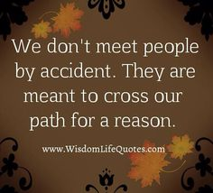 People...A Reason,A season,A nd a Lifetime...those are the types of people..we will\have\had....encountered...aaaah,the journey of life..buckle up..lol