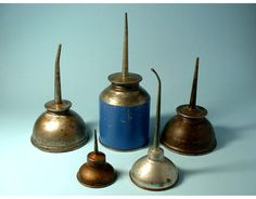 Vintage Oil Can Collection by BewitchingVintage on Etsy