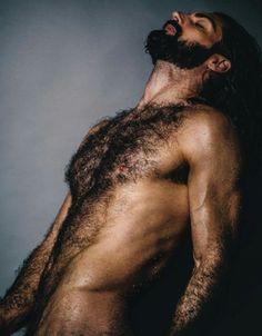 Black hairy nude guys #4