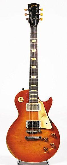 1958 Gibson Les Paul Standard.
