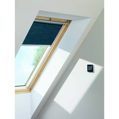 Touch control VELUX individually motorized products and used on almost any windows.