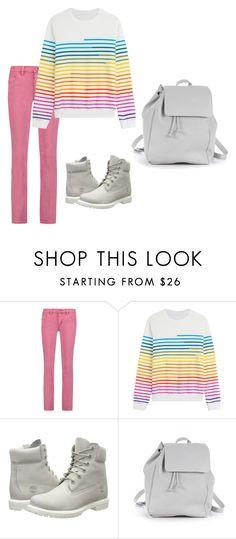 """pink"" by msalibeli on Polyvore featuring мода, Tory Burch, Mary Katrantzou, Timberland и Zara TRF"