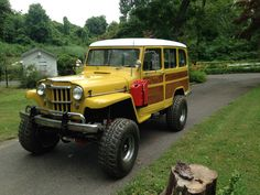 1954 Willys Wagon Woodie 4x4 - Vintage Mudder - Reviews of Classic ...
