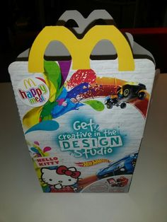 Hello kitty happy meal! Get it now!!! Pattern Design, Hello Kitty, Meal, How To Get, Candy, Creative, Food, Sweets, Candy Bars