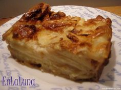 Pudding de pera - Ligeriiisimo!