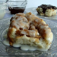 Bisquick Cinnamon Rolls, so easy to make and no waiting for them to rise!