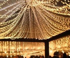 Fairy lights - turn any outdoor event into a magical evening! #tips #homedecor #party