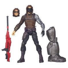 Captain America Marvel Legends Winter Soldier Figure 6 Inches >>> Check this awesome product by going to the link at the image.
