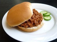 Renal friendly sloppy joes for grandpa this weekend Kidney Recipes, Diabetic Recipes, Healthy Recipes, Kidney Foods, Diet Recipes, Diabetic Foods, Kidney Health, Diet Meals, Low Potassium Recipes