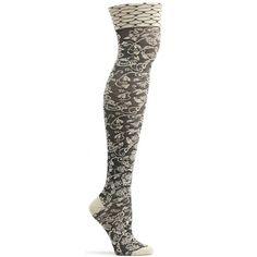 ozone design womens elizabethan lace over the knee sock – Ozone Design Inc