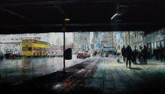 U-Bahn  Mars. 2011 • Oil on canvas • 195 x 114 cm