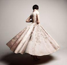 Sophie Gimbel, Evening Dress, 1953. Photo Credit: Julia Noni for Saks Fifth Avenue