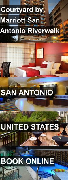 Hotel Courtyard by Marriott San Antonio Riverwalk in San Antonio, United States. For more information, photos, reviews and best prices please follow the link. #UnitedStates #SanAntonio #CourtyardbyMarriottSanAntonioRiverwalk #hotel #travel #vacation